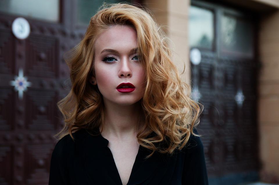 девушка-красивые волосы