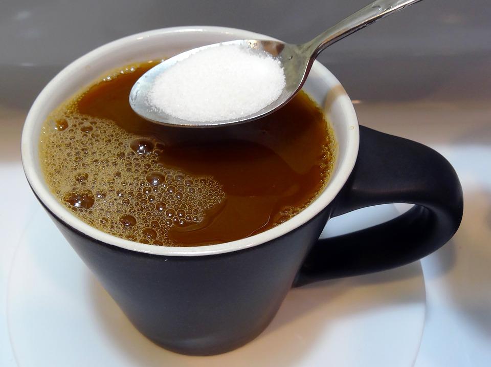 кофе-сахар